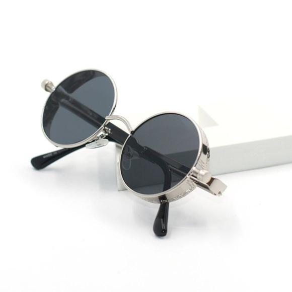 7afb4fc4ed4 Mens Quavo Styled Round Sunglasses